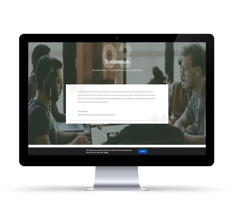 κατασκευή εταιρικής ιστοσελίδας