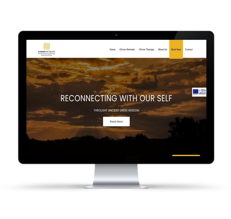Κατασκευή Ιστοσελίδας για το Chiron Retreats