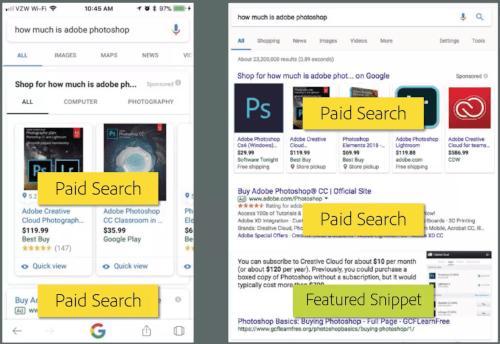 Desktop vs. Mobile